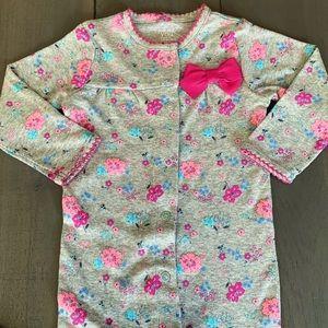 6M Purple Baby Girl Sleeper Pajamas